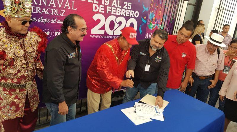 NO HABRA «TAMAL» EN LAS ELECCIONES A REY DEL CARNAVAL 2020, TODO SERÁ TRANSPARENTE:PEREZ FRAGA.